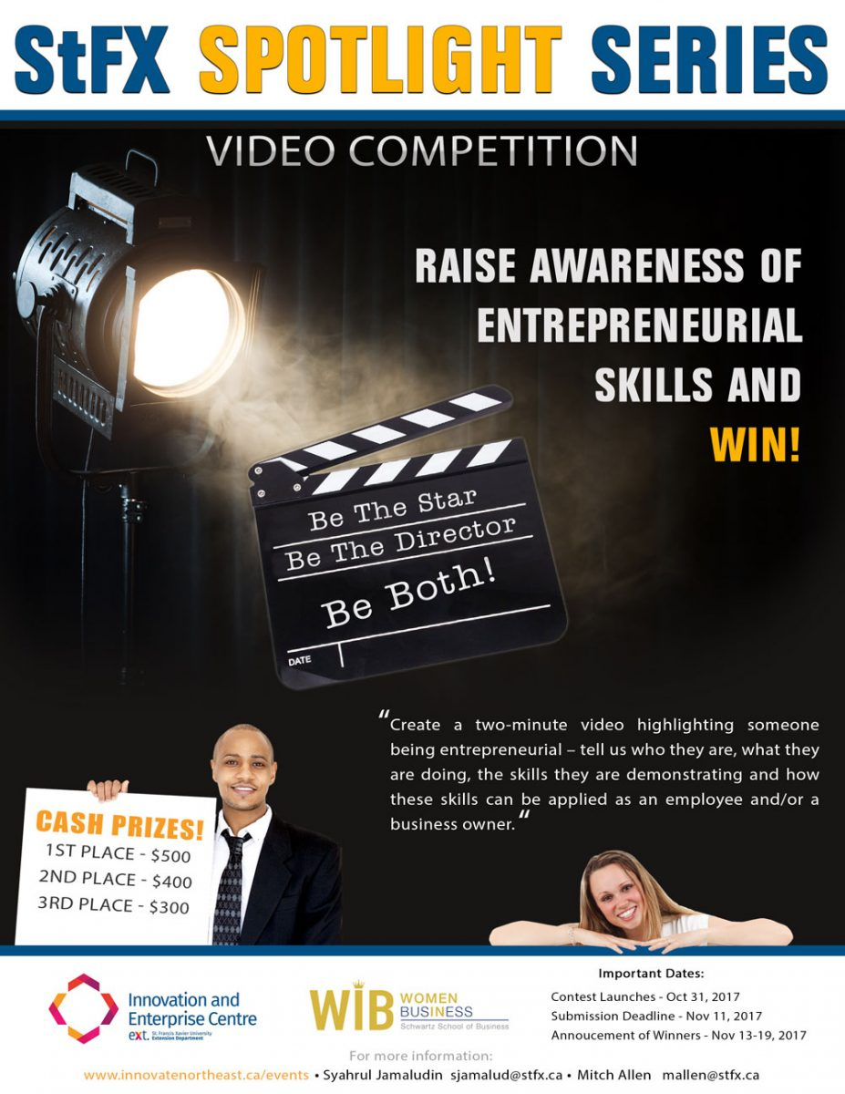 Spotlight series video competition poster web friendly